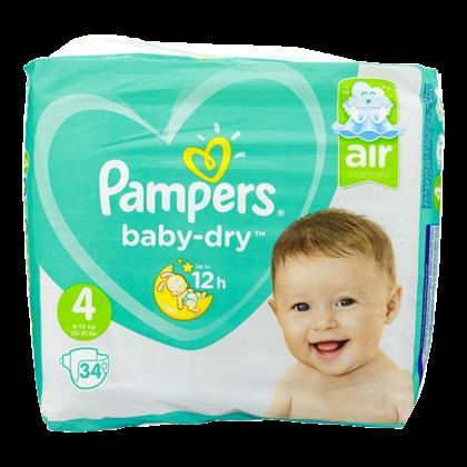 Pampers Luiers Baby Dry maat 4