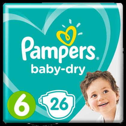 Pampers Luiers Baby Dry maat 6