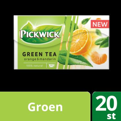 Pickwick Green tea orange-mandarin