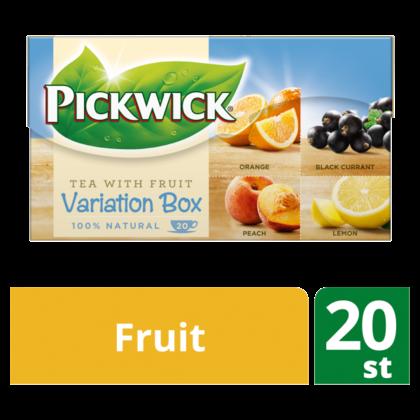 Pickwick Fruit tea variation box blue