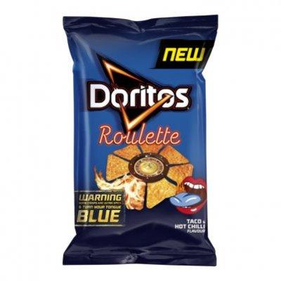 Doritos Roulette blue tongue