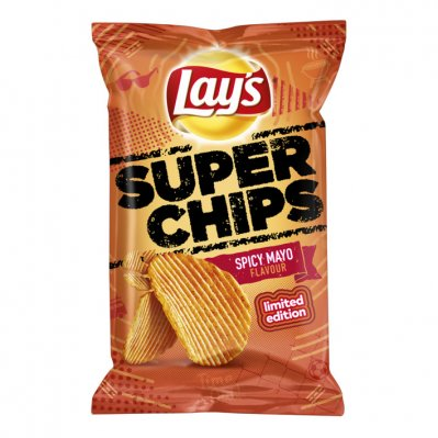 Lay's Superchips spicy mayo