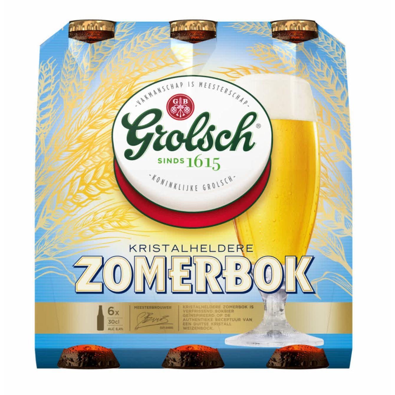 Grolsch Zomerbok Fles 6 X 30 Cl