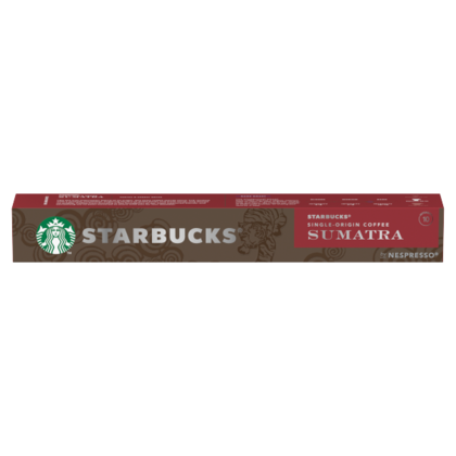 Starbucks by Nespresso coffee Sumatra dark roast