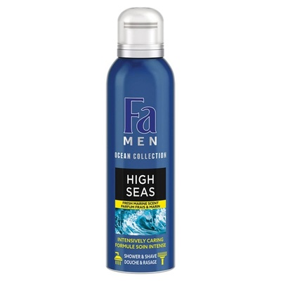 Fa men shower foam high seas