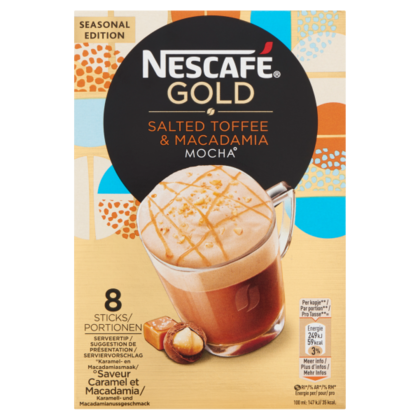 Nescafe Gold salted toffee macademia mocha