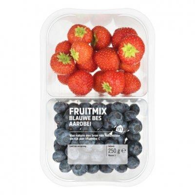 Huismerk Fruitmix blauwe bessen-aardbeien