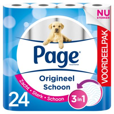 Page Toiletpapier Origineel Schoon Voordeelpak 24 Rollen