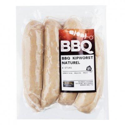 Huismerk BBQ kipworst naturel