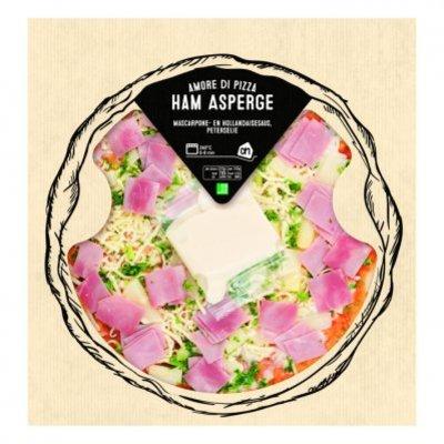 Huismerk Pizza asperge ham