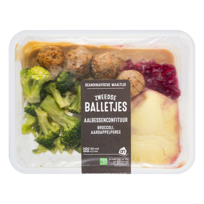 Huismerk V zweedse balletjes broccoli