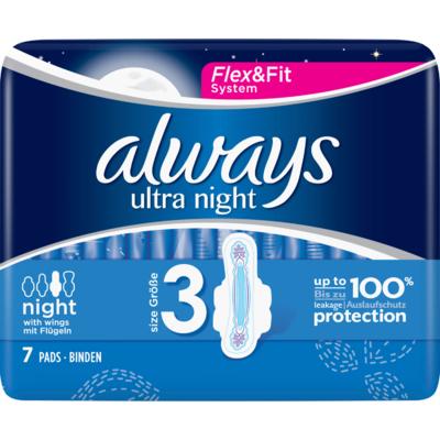 Always Maandverband ultra night