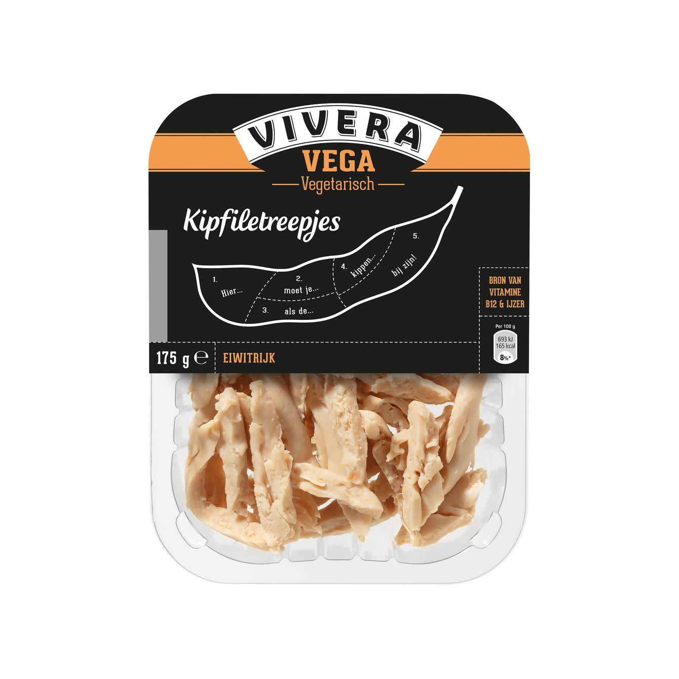 Vivera Vegetarische Kipreepjes