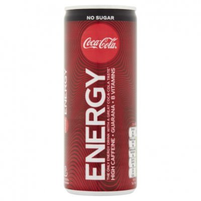 Coca-Cola Energy no sugar