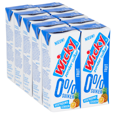 Wicky Fruit 0% 10 x 20 cl