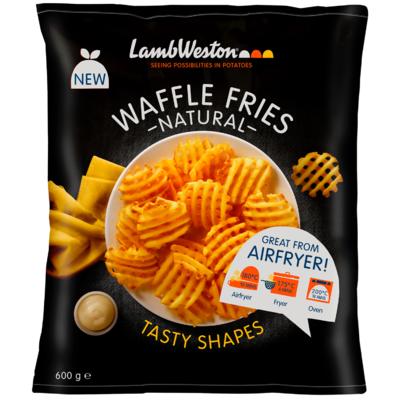 Lamb Weston Waffle fries natural