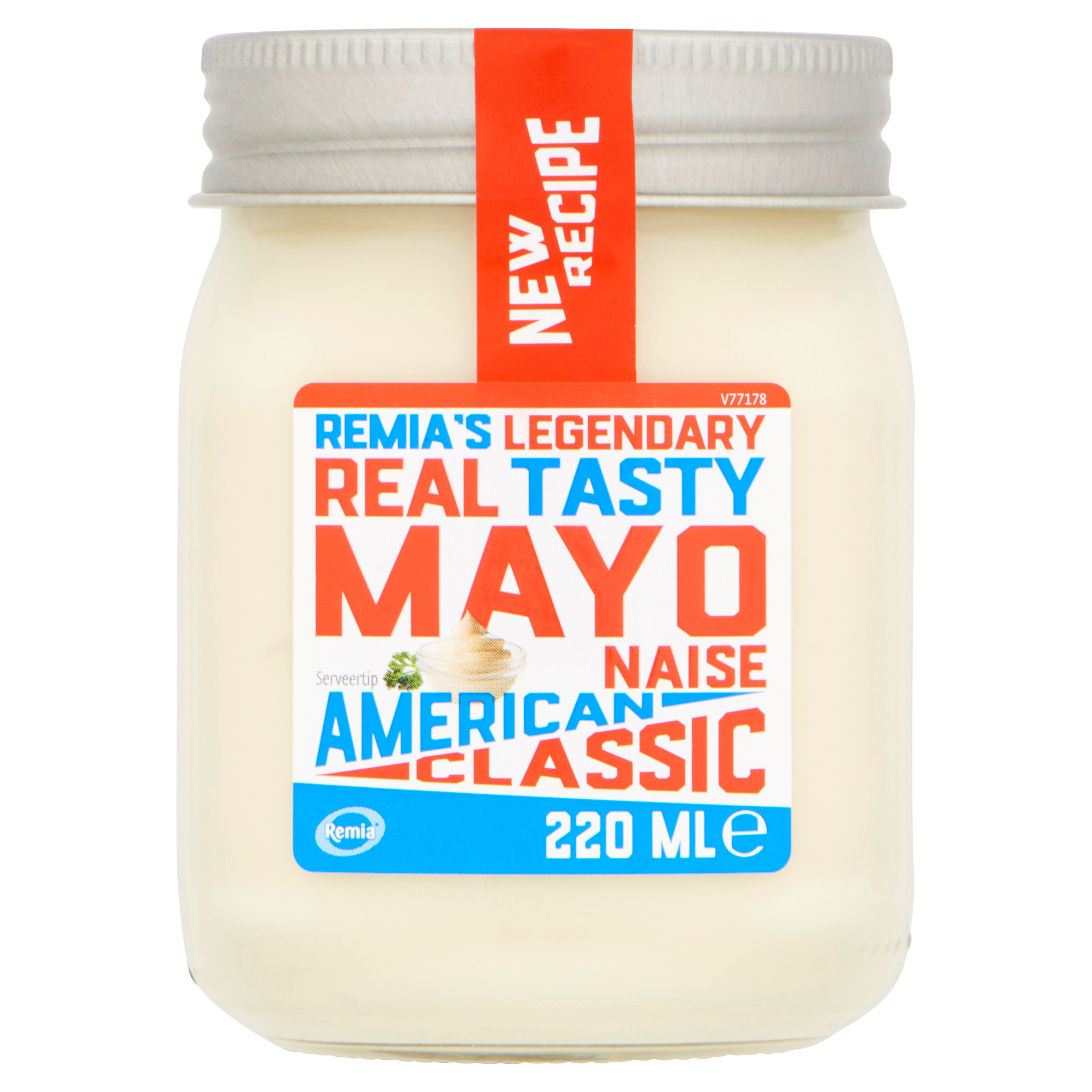 Remia's Legendary Real Tasty Mayonaise American Classic 220 ml
