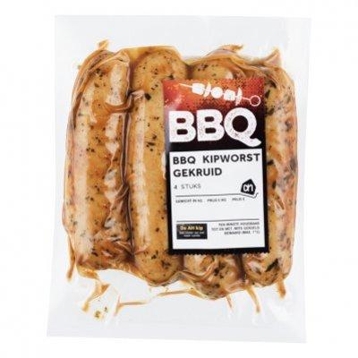 Huismerk BBQ kipworst gekruid
