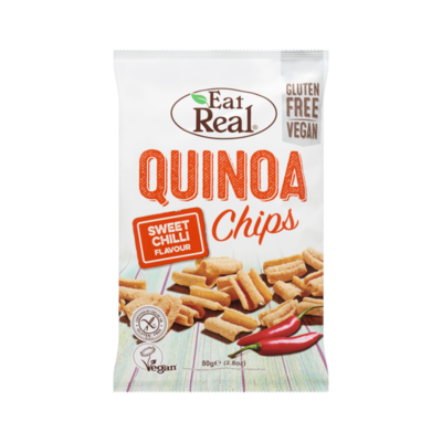 Eat Real Quinoa Chips Sweet Chilli Flavour