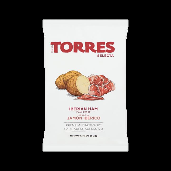 Torres Iberian Ham Flavoured Premium Potato Chips
