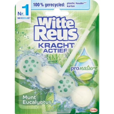 Witte Reus Toiletblok pro nature munt-eucalyptus