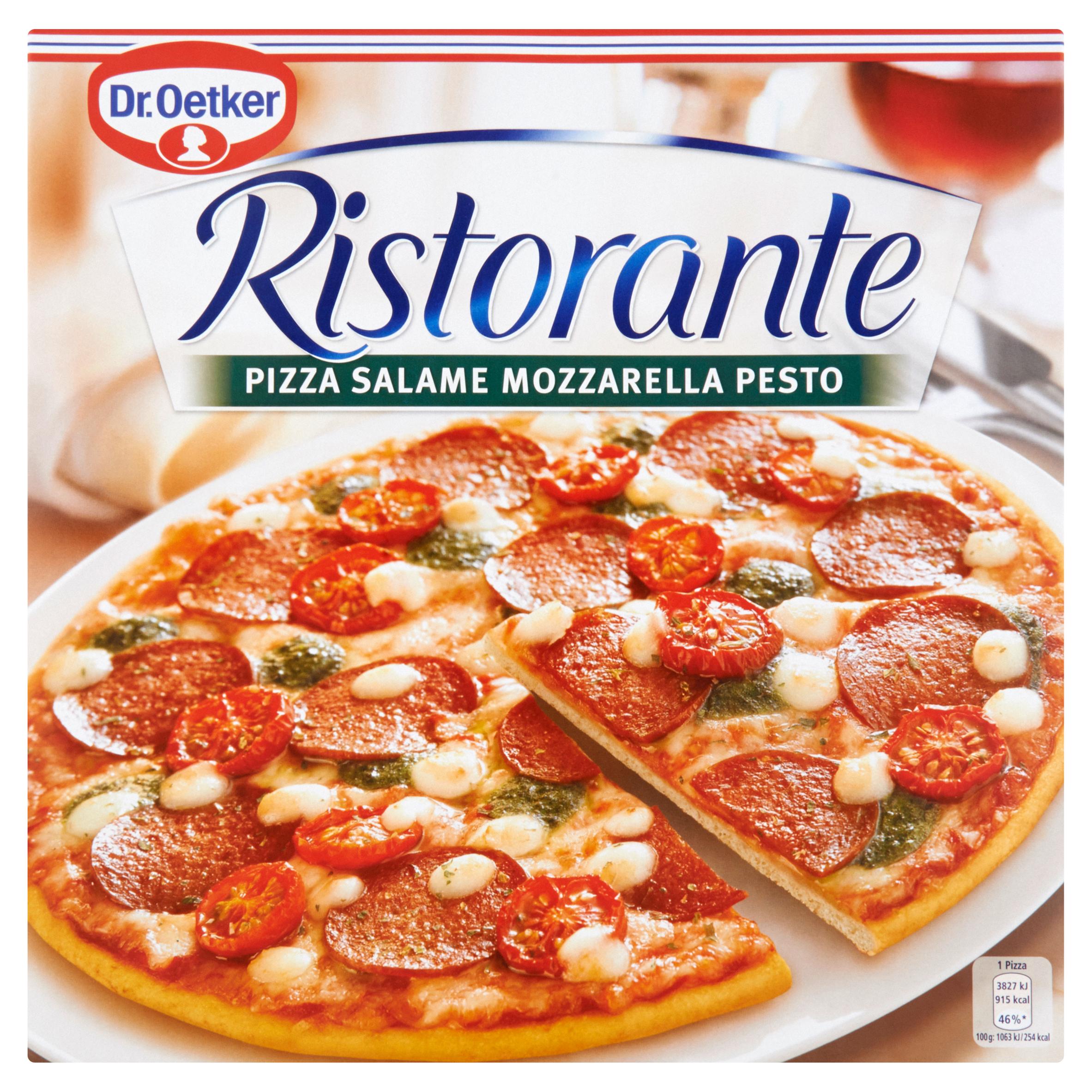Dr. Oetker Ristorante Pizza Salame Mozzarella Pesto 360 g