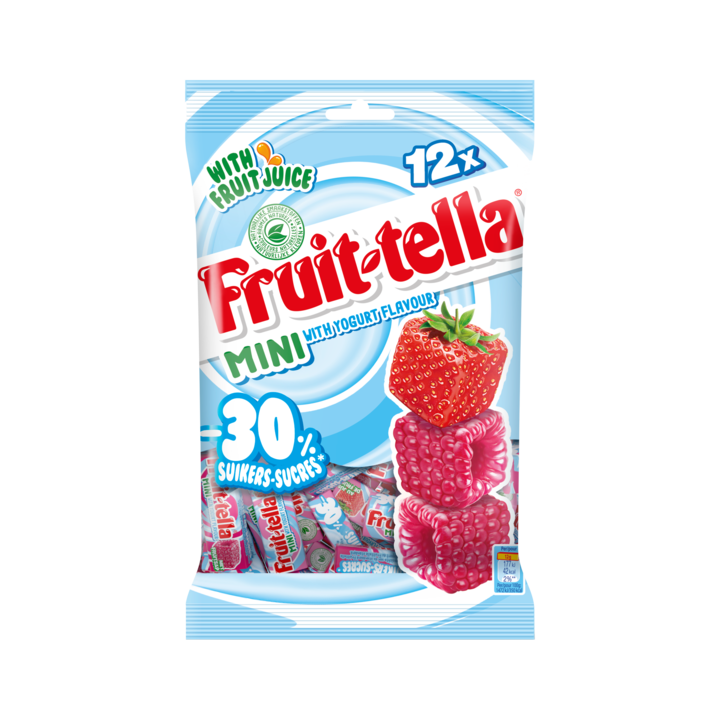 Fruittella Yoghurt Mini -30% Suiker