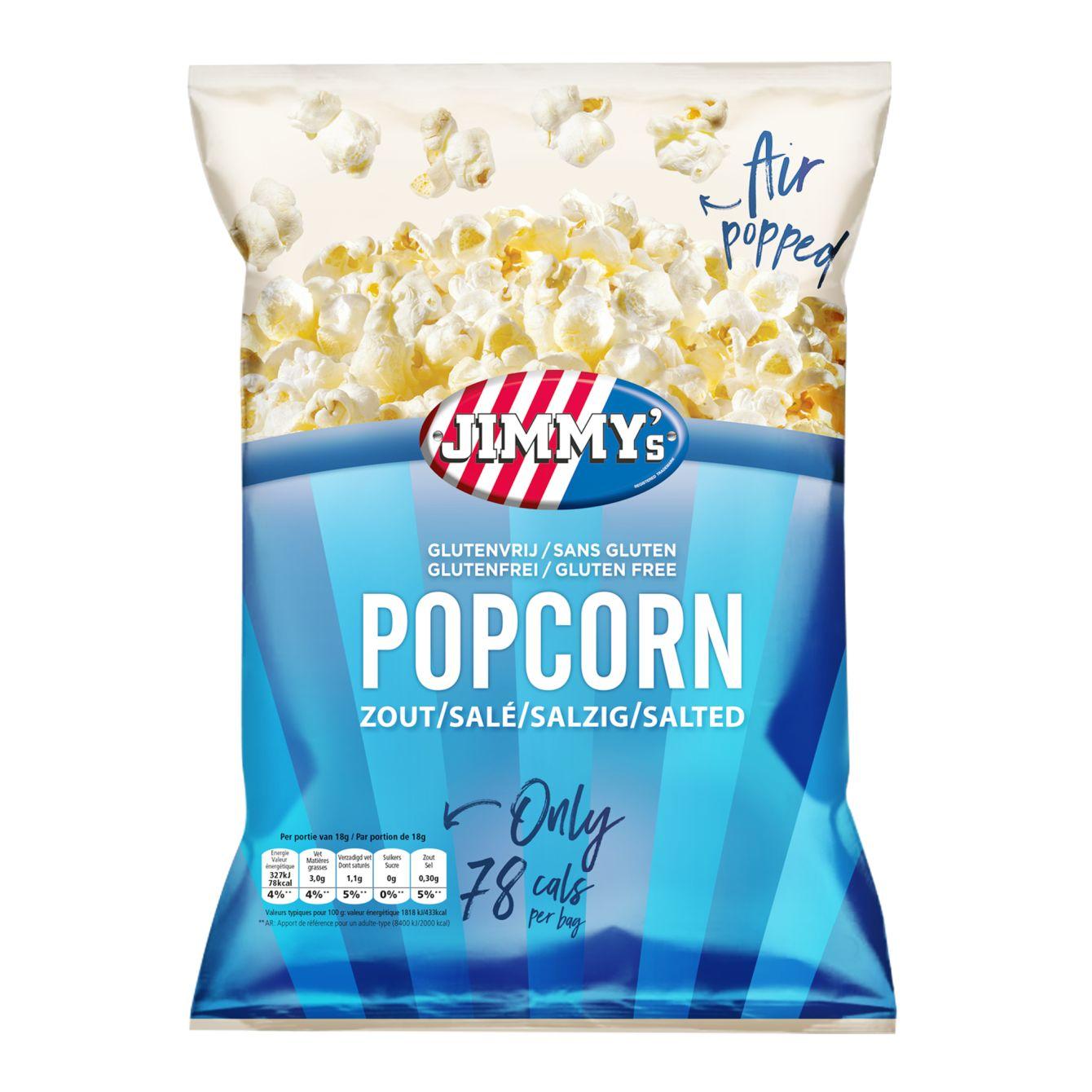 Jimmy's Salted Popcorn