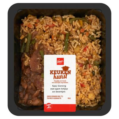 Keukenkunst Nasi Goreng met Ajam Ketjap en Boontjes 450 g