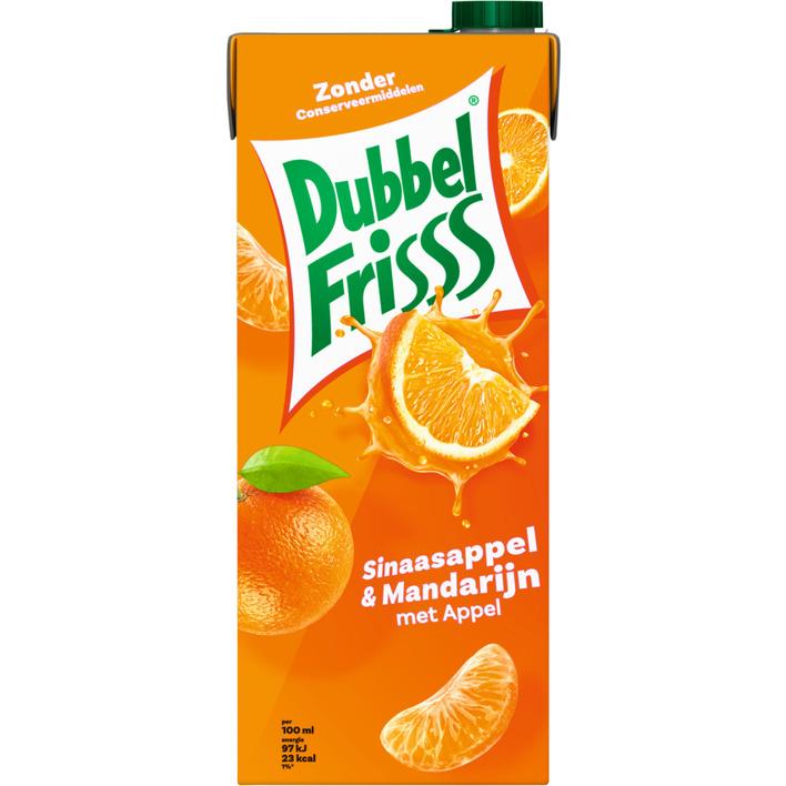 DubbelFrisss Sinaasappel & mandarijn