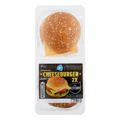 Huismerk Broodje cheeseburger
