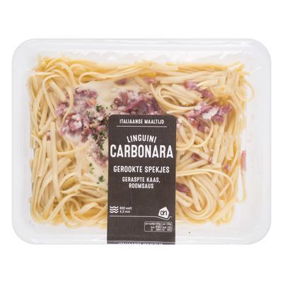 Huismerk Linguini carbornara