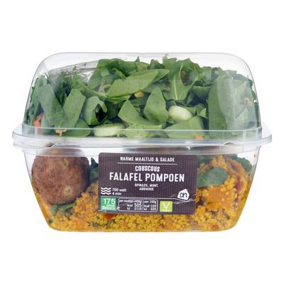 Huismerk M&s falafel met salade