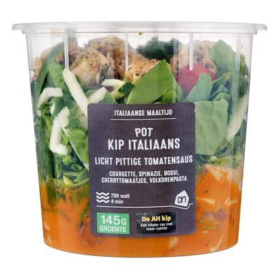 Huismerk Pot Italiaanse kip pasta
