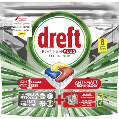Dreft Vaatwas platinum plus citroen