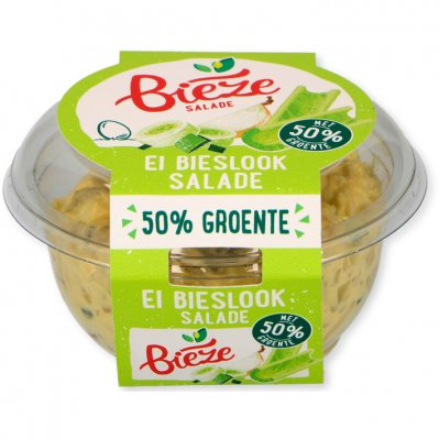 Bieze Eiersalade met 50% groenten