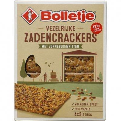 Bolletje Vezelrijke zadencrackers pompoenpitten