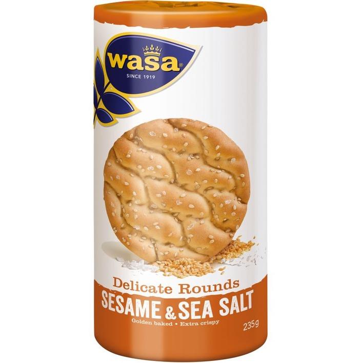 Wasa Del round sesam seasalt