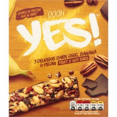Yes Dark chocolate banaan & pecan
