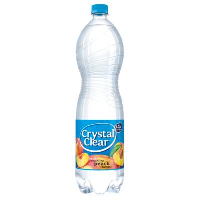 Crystal Clear Sparkling Peach Flavour
