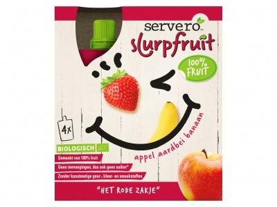 Servero Slurpfruit appel aardbei
