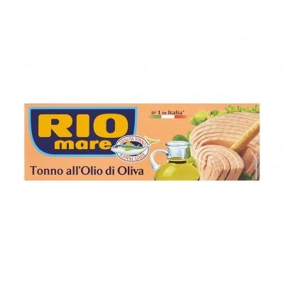 Rio Mare Tonijn in olijfolie 3-pak