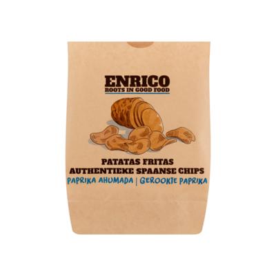 Enrico® Authentieke Spaanse Chips Gerookte Paprika