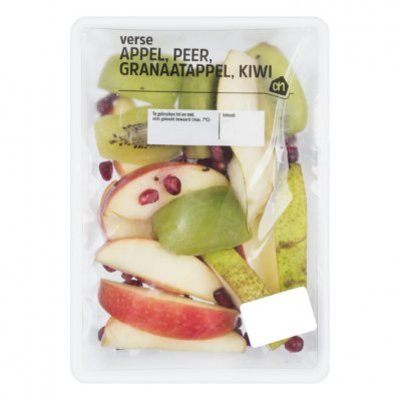 AH Appel peer granaatappel en kiwi