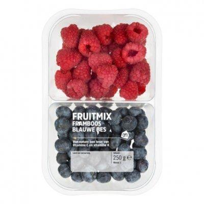 Huismerk Fruitmix blauwe bessen - frambozen