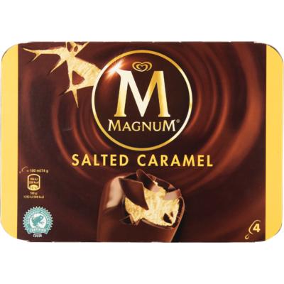 Ola Magnum salted caramel 4 stuks