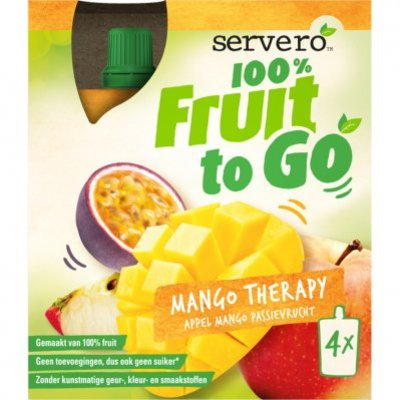Servero 100% fruit to go mango therapy