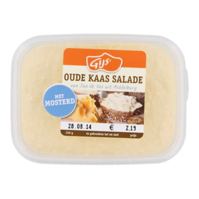 GIJS Oude kaas salade