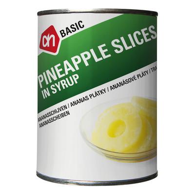 Budget Huismerk Ananasschijven op siroop