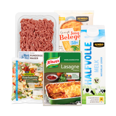 Knorr Wereldgerecht Lasagne Pakket